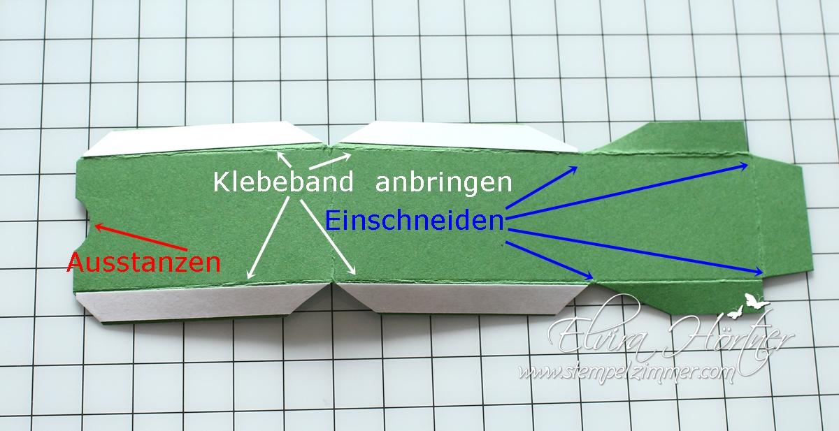 Anleitung - Detail - Tannenbaum Goodies