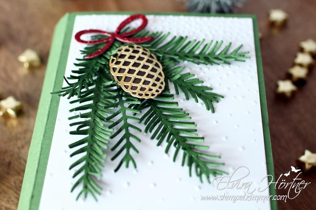 Stampin Up Bloghop - Tannen und Zapfen und Tannenzauber - Christmas Pines
