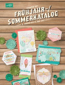 Stampin Up Frühjahr-Sommerkatalog 2017