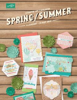 Frühjahr-Sommerkatalog 2017 englisch - Stampin Up!