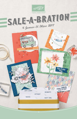 Sale-A-Bration 2017 - Gratisartikel bei Stampin Up!
