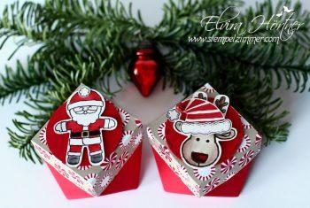 Rentier und Weihnachtsmann Stampin Up