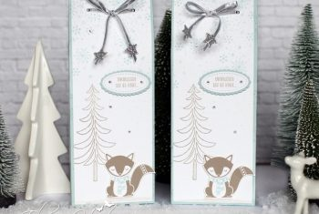 Winterliche Geschenktüten mit Fuchs