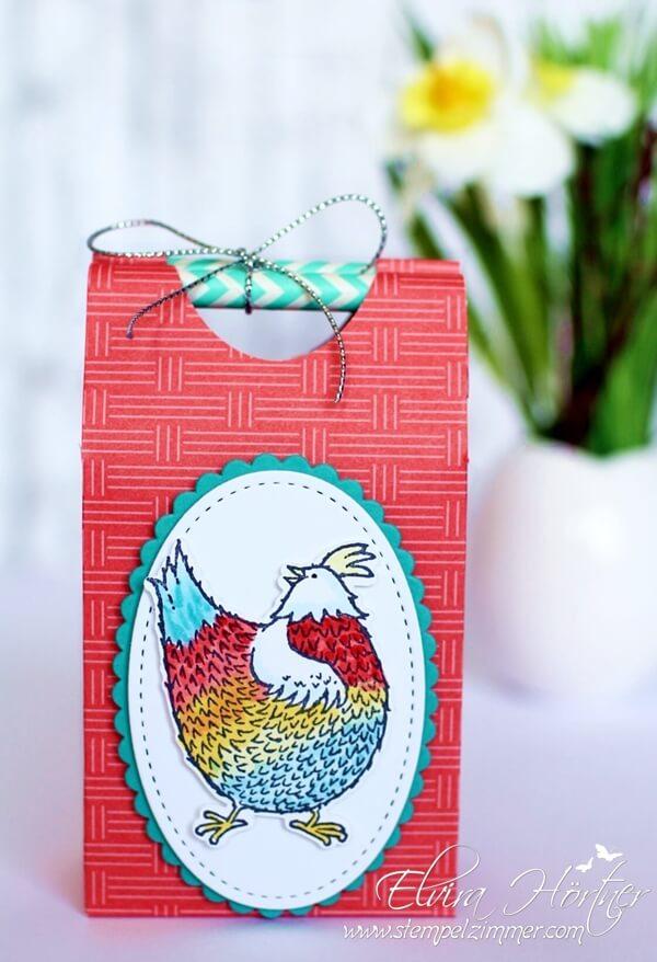 Strohhalmtüte mit SAB Set Das Gelbe vom Ei