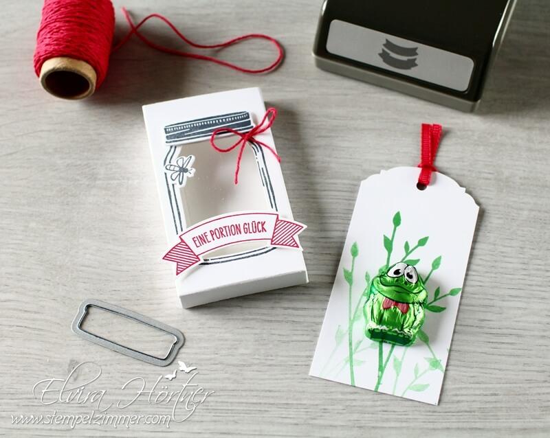Eine Portion Glück - Stampin Up- Goodies-Glasklare Grüße-Stempelzimmer-Blog-Oesterreich