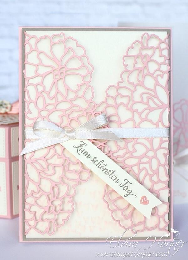 Wonnemonat Mai - Hochzeitskarte - Stampin Up - Für immer- Liebe zum Detail - Stempelzimmer