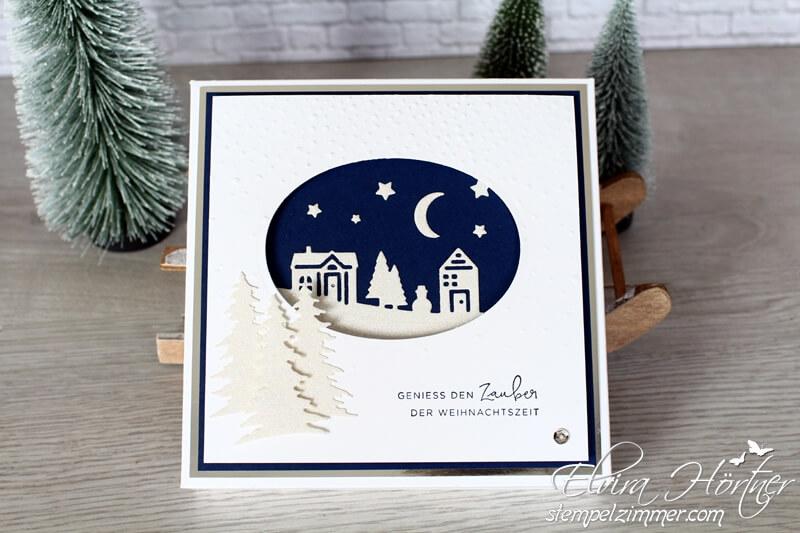 Schokoverpackung für Lindt Pralines-Weihnachten daheim-Stampin Up-Stempelzimmer-Blog-Österreich