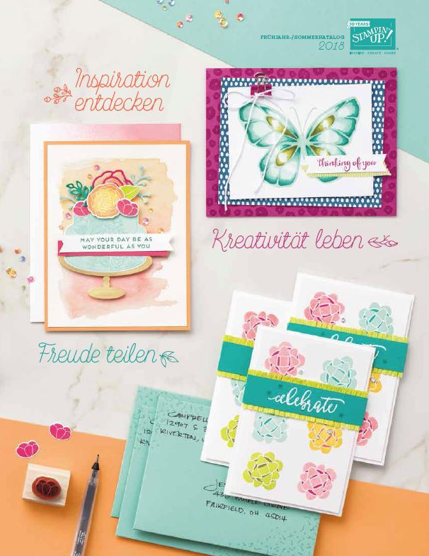 Frühjahr-/Sommer Katalog Stampin' Up!
