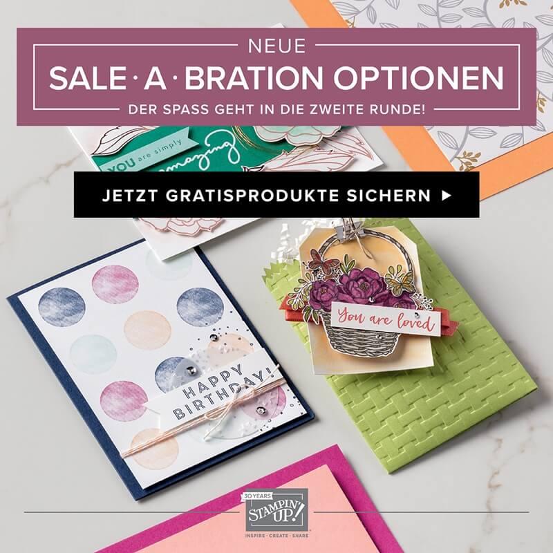 Sale-A-Bration 2018 - Der Spass geht in die zweite Runde - Geschenke von Stampin Up