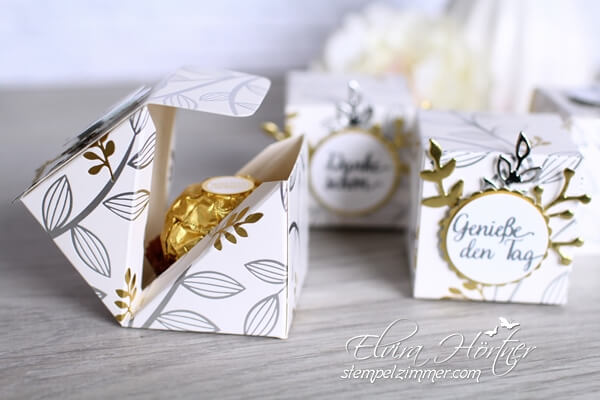 Kleine Box mit diagonalem Verschluss-Goodies-Stampin Up-Sale A Bration