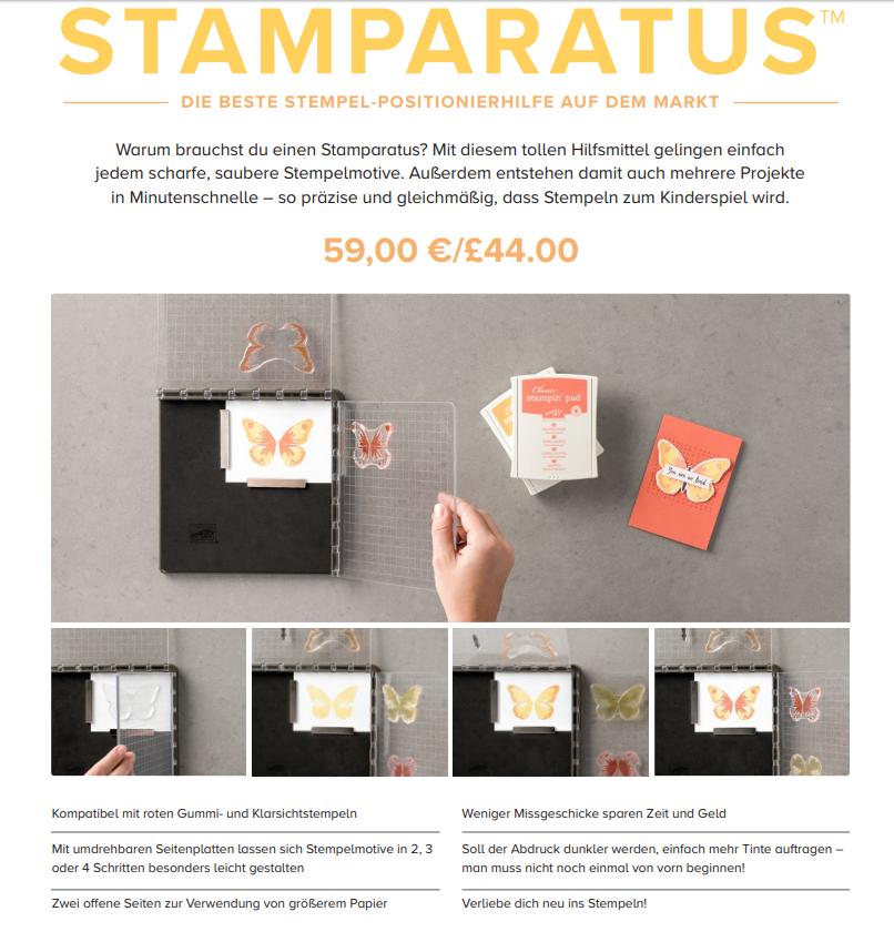Stamparatus-Stempeltool-Stampin Up-