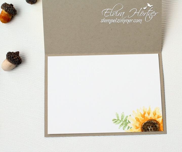 Herbstanfang-Herbstbeginn-Herbstkarte-Sonnenblumen-Stampin' Up-