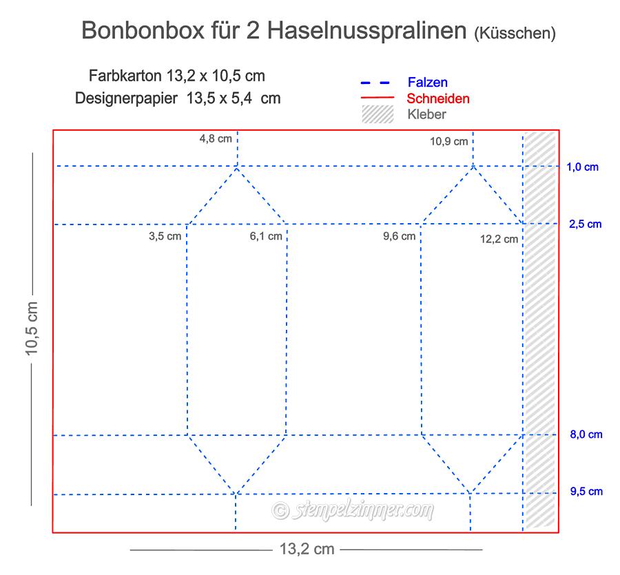 Anleitung Bonbonbox fuer 2 Kuesschen-Halloween-Fledermaus-Stampin' Up!