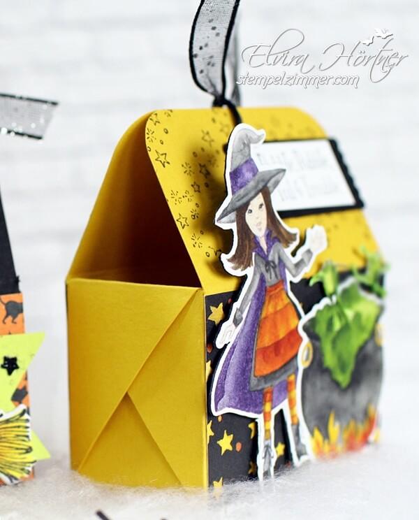 Kleine Box mit diagonaler Faltung-Aus dem Hexenkessel-Stampin Up-Stempelzimmer-Elvira Hoertner