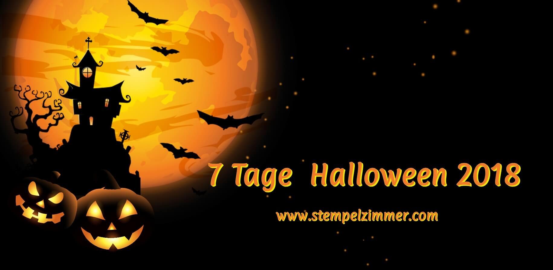 7 Tage Halloween-Stempelzimmer-Blog