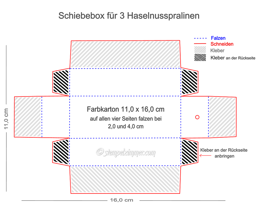 Anleitung Schiebebox fuer 3 Haselnusspralinen-Halloween-Stempelzimmer