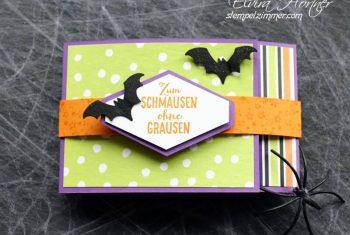 Halloween 2018 Tag 7 – Last Minute Verpackung