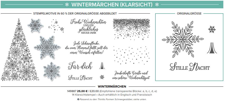 Die ersten Schneeflocken-Wintermaerchen-Aktion 2018-Stampin Up