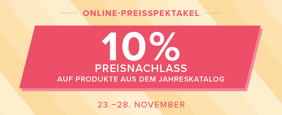 Online Preisspektakel-Black Friday-Stampin Up-Angebote-Rabatte