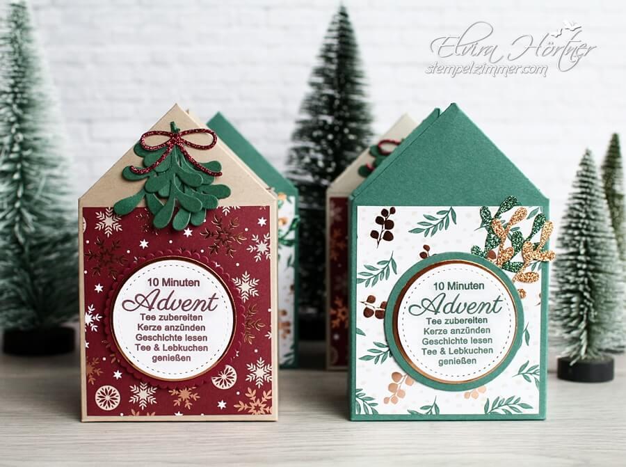 10 Minuten Advent im Haeuschen-Weihnachten-Kleine Geschenke-Goodies-Stampin Up-Stempelzimmer-Elvira Hörtner
