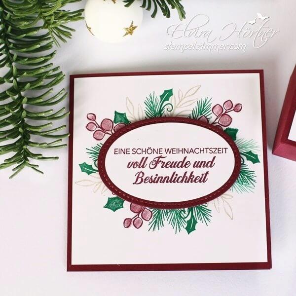 Besinnlicher Advent-Schoene Weihnachtszeit-Stampin Up-Weihnachtsset-Stempelzimmer-Elvira Hörtner