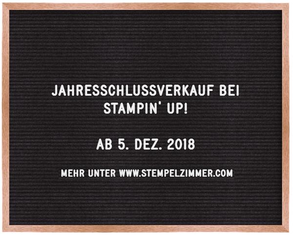 Ausverkauf zum Jahresende bei Stampin' Up!-Schlussverkauf-Elviras Stempelzimmer