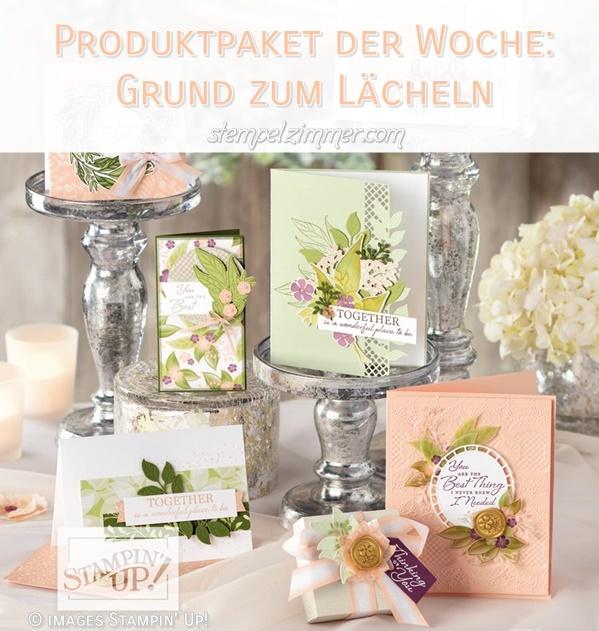 Produkt der Woche-Grund zum Laecheln-Bluetenromantik-Stampin' Up!-Blog-Oesterreich-Elviras Stempelzimmer