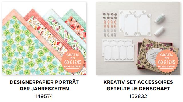 SAb 2019 Gratis Artikel Papier und Kreativ-Set