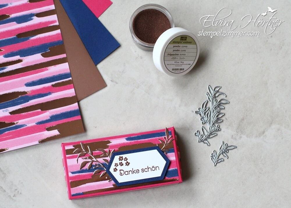 Alles wunderbare-Kleines Dankeschön-Schokoverpackung-Stampin Up!-Blog-Österreich-Stempelzimmer