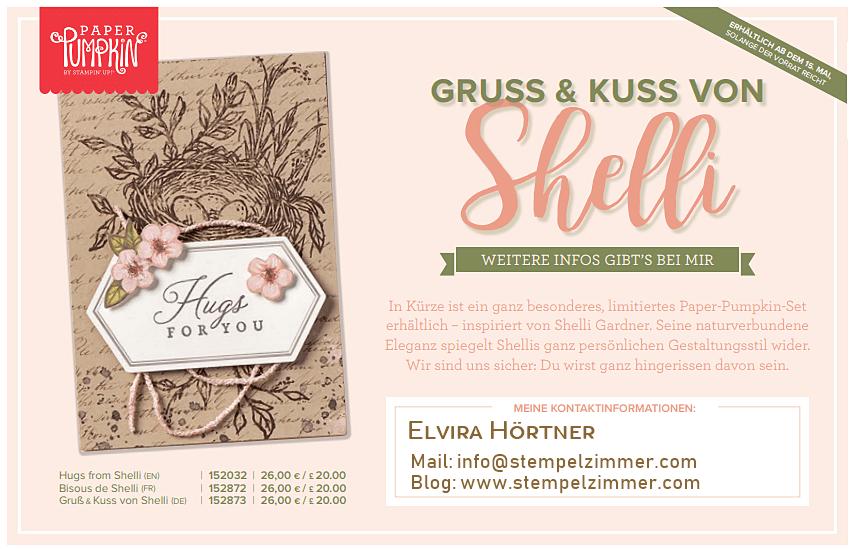 Paper Pumpkin-Gruss und Kuss-Shelli-Stampin' Up!