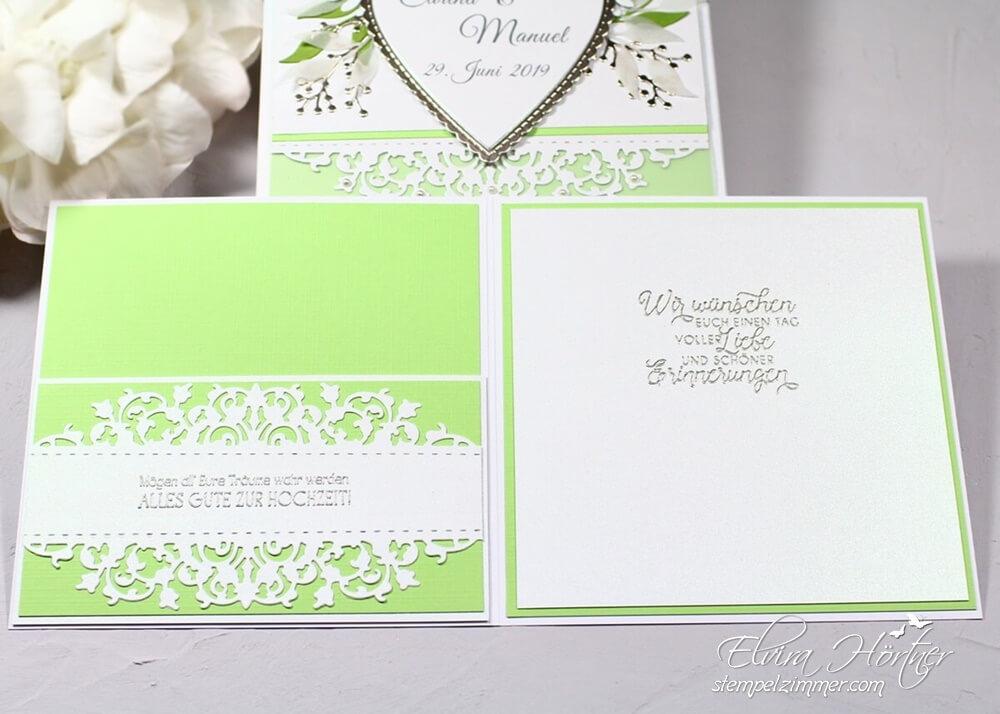 Hochzeitskarte mit feiner Spitze von Stampin Up-Geldscheinfach-Hochzeit-Elviras Stempelzimmer