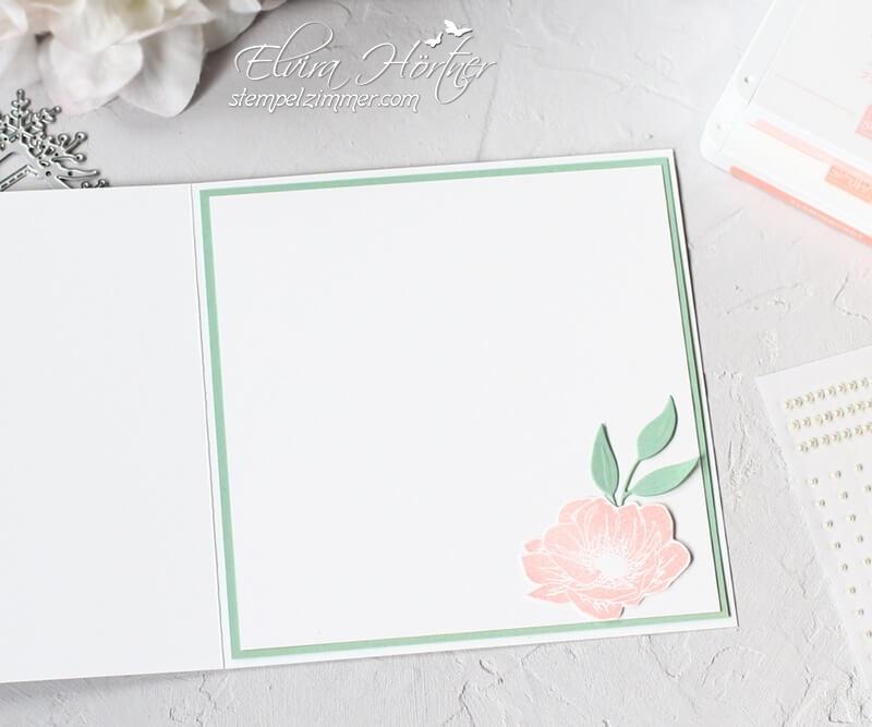 Karte zum Ruhestand-Pension-Florale Freude-Blumen-Stampin' Up!