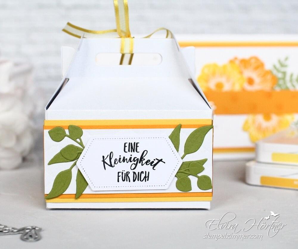 Geschenkverpackung-Gutscheinverpackung-Florale Freude-Stampin Up-Stempelzimmer