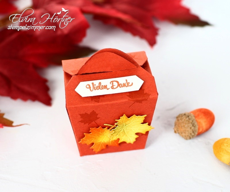 Herbstliche Goodies-Vielen Dank-Take Out Box-Stampin Up-Herbst