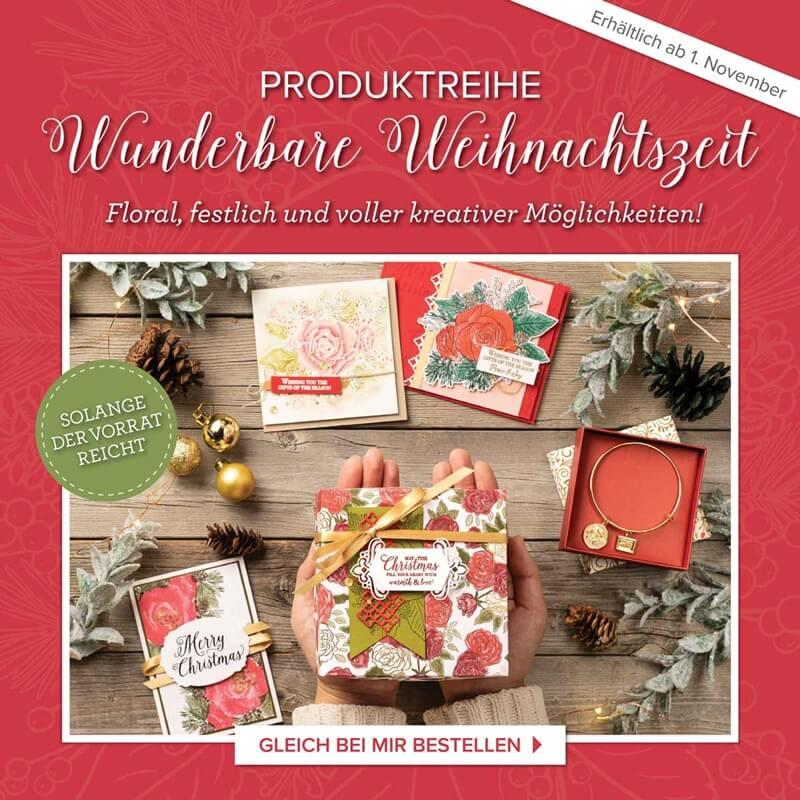 Produktpaket Wunderbare Weihnachtszeit von Stampin Up