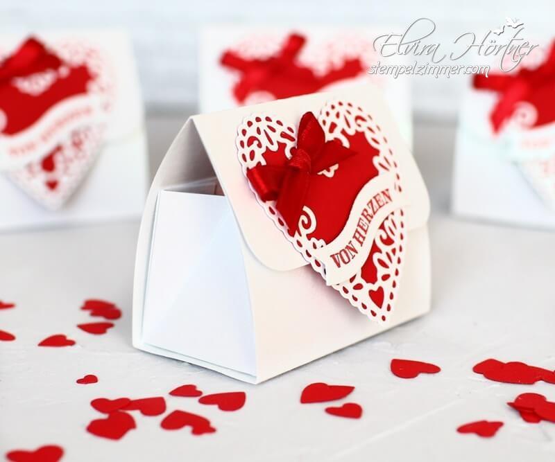 Von Herzen-Valentinsverpackung-Herzlich bestickt-Stampin Up-Geschenke zum Valentinstag