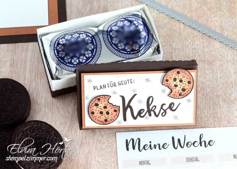 Plan fuer heute - Kekse - Verpackung fuer Oreo Kekse mit Produkten von Stampin' Up