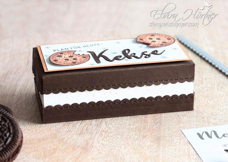 Kekse-nichts geht ueber-Stampin Up-Verpackung-Oreo Kekse