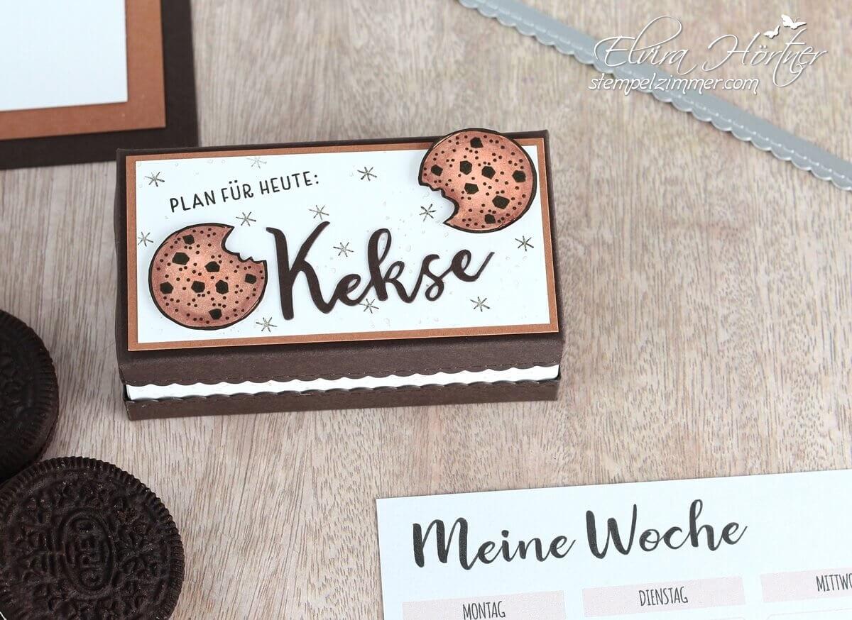 Plan fuer heute: Kekse-Verpackung fuer Oreo Kekse mit Produkten von Stampin' Up