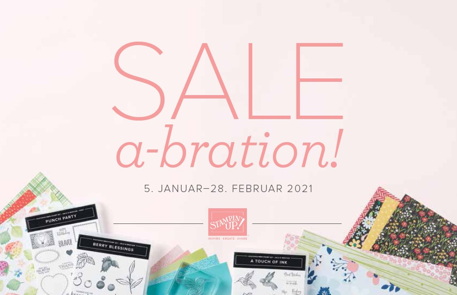 Sale-A-Bration 2021 Stampin' Up!