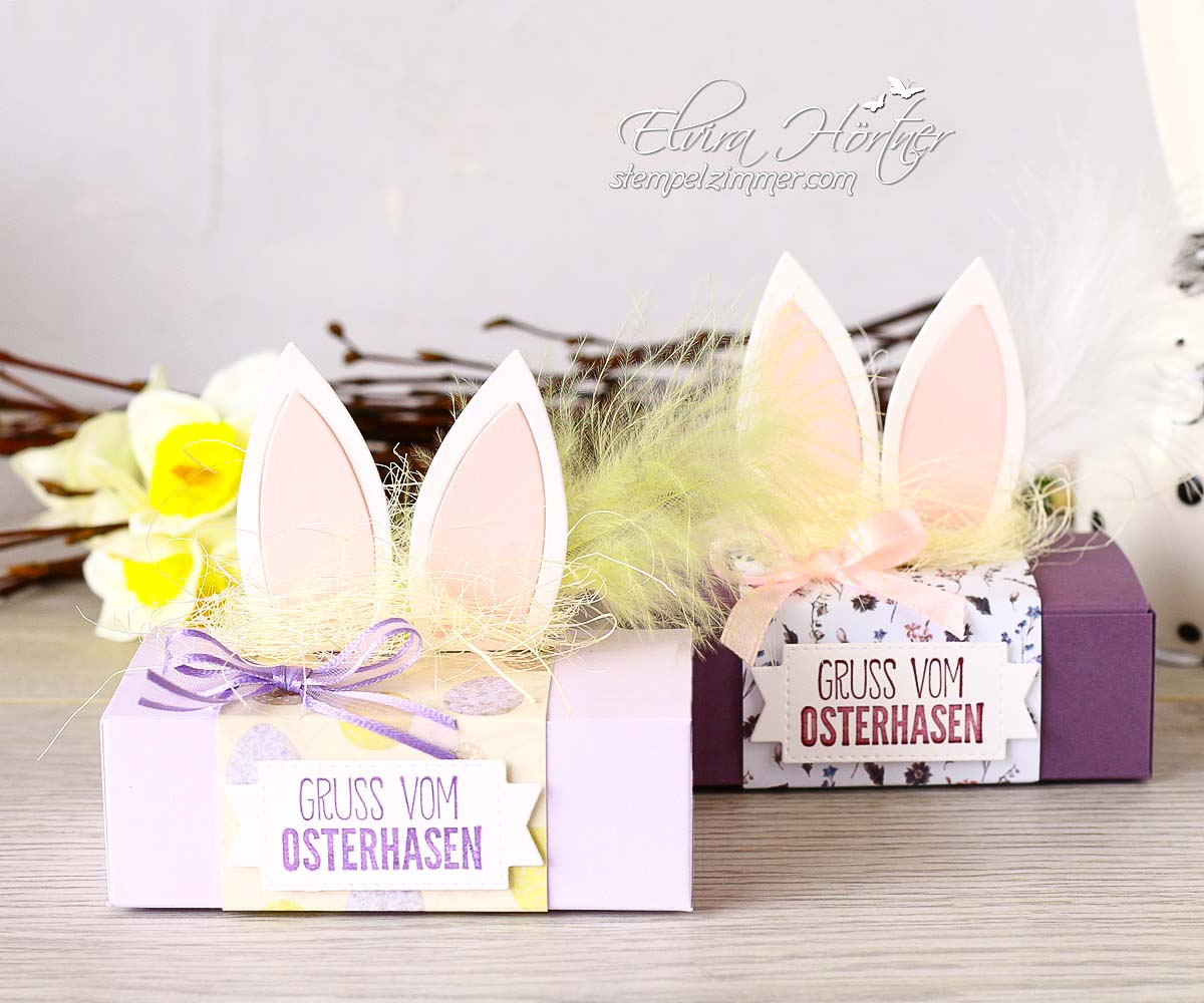 Hasenohren-Kleine Ostergeschenke mit Produkten von Stampin' Up! und Alexandra Renke